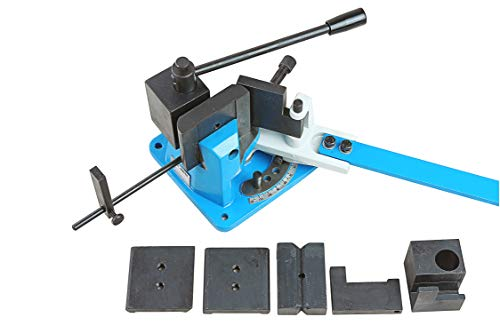 Pro-Lift-Werkzeuge Winkelbiegemaschine bis 100 mm Universal-Biegemaschine Biegewinkel bis 120 Grad Handbieger Biegevorrichtung Formen-Bieger Biegegerät
