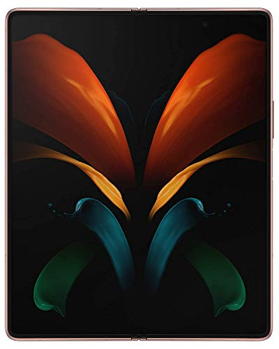 Samsung Galaxy Z Fold 2 5G with Snapdragon 865+ Single Sim (Mystic Bronze, 12GB RAM, 256 Storage)