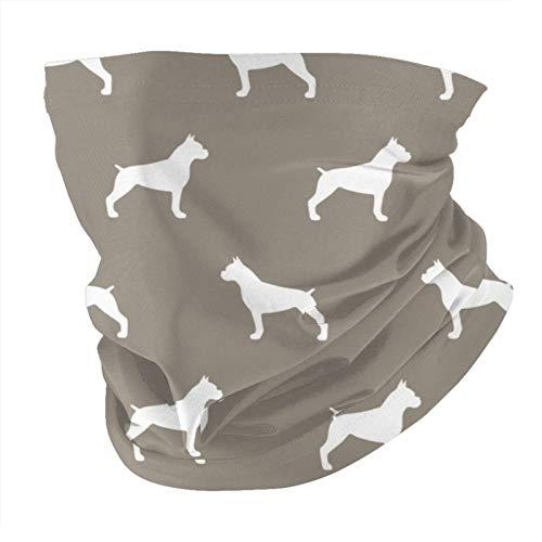 Xinflag@10 Silhouette - Bandanas de color gris cálido para la cara y el cuello, polainas unisex, variedad de bufandas para la cabeza