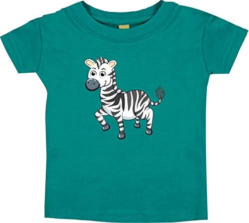 Shirtstown Bébé Kids-T, Zèbre Animal Animal Nature - Royal, 18-24 Monate