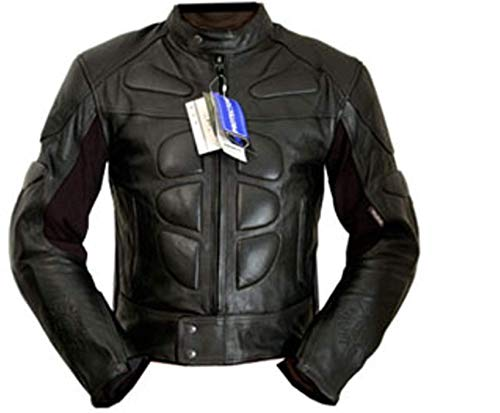 4LIMIT Sports 100400001106Motorrad-Jacke aus Leder, Schwarz, XL