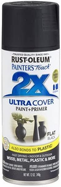 Rust Oleum 249127 Painter S Touch Multi Purpose Spray Paint 12 Ounce Flat Black