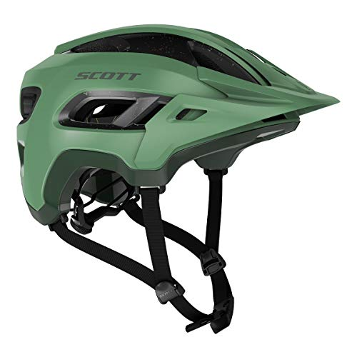 SCOTT Stego 2020 - Casco para Bicicleta de montaña, Color Verde