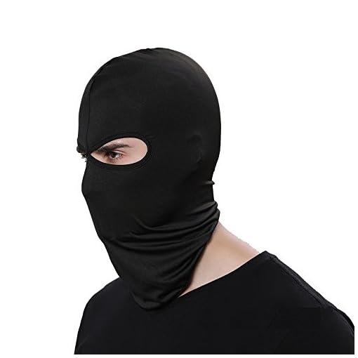 GANWAY Wind Cap Motorcycle Ski Masks Balaclavas Outdoor Sports Cycling Hat (Black)