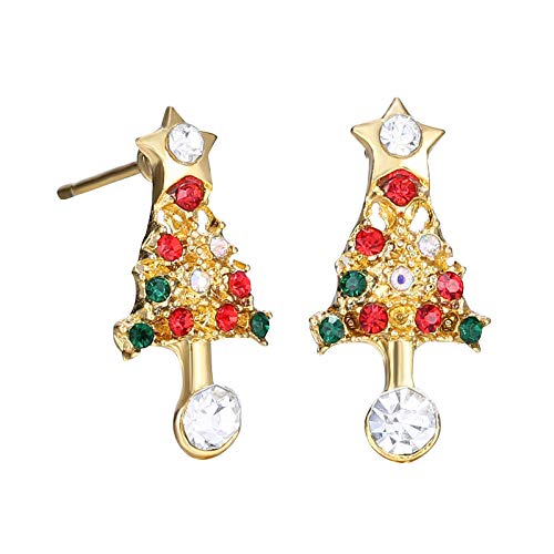 jieGorge Earrings, Christmas Earrings Set Ear Cute Christmas Jewelry for Women New Year Gifts, Jewelry for Women Gifts (D)