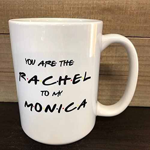 N\A Regalo per Il Migliore Amico Sei la Tazza da caffè di Rachel per Il Programma televisivo dei Miei Amici di Monica