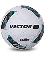 Vector X Street Soccer Hand Stitched Football (Size-4)
