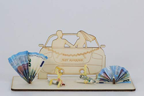 Geldgeschenk, Hochzeit Auto