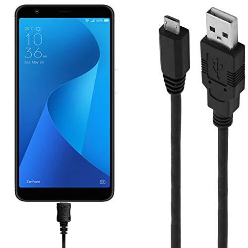 ASSMANN Ladekabel/Datenkabel kompatibel für Asus Zenfone Max Plus M1 - schwarz - 1m