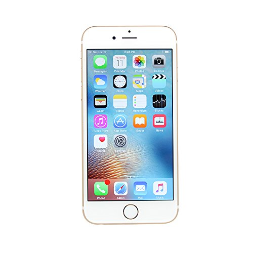 Apple iPhone 6S, 16GB, Gold - Fully Unlocked (Renewed)