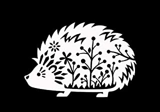 hedgehog vinyl decal