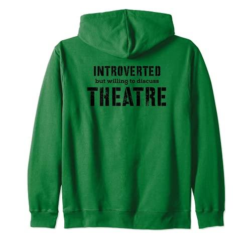 Regali del teatro per gli introversi timidi disposti a discutere il teatro...