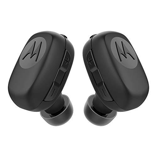 Fone de Ouvido Motorola Stream SH015BK Estéreo Bluetooth e Resistente à Água, Preto