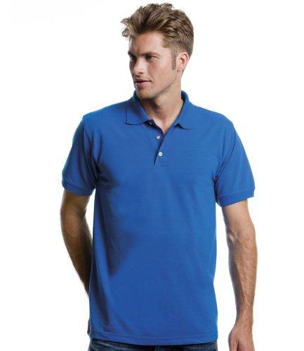 Kustom Polo côtelé - Bleu - Bleu électrique - Xxx-large