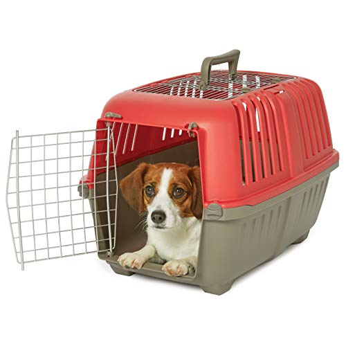 Midwest Spree Travel Pet Carrier, Dog Carrier Features Easy Assembly and Not The Tedious Nut & Bolt Assembly of Competitors, Ideal for Small Dogs & Cats