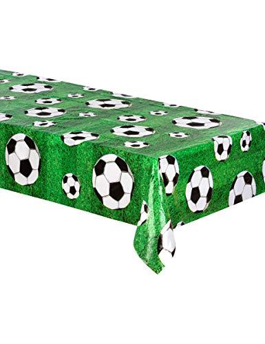 Boland 62509 tafelkleed, voetbal, meerkleurig, 120 x 180 cm