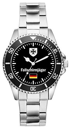 KIESENBERG Uhr - Soldat Geschenk Artikel Bundeswehr Fallschirmjäger 1028