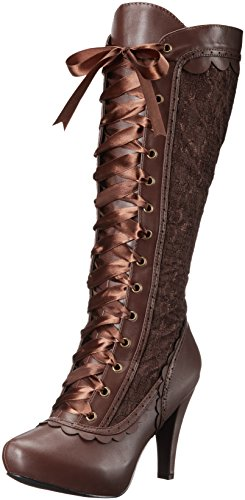 Ellie Shoes Women's 414-Mary Boot, Brown, 8 M US