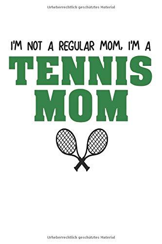 TENNIS: Notizbuch für Coaches und Tennis Spieler   Tennis Mom   Für alle Notizen, Termine, Skizzen, Zeichnungen oder Tagebuch (A5   liniertes Papier   Soft Cover   100 Seiten)