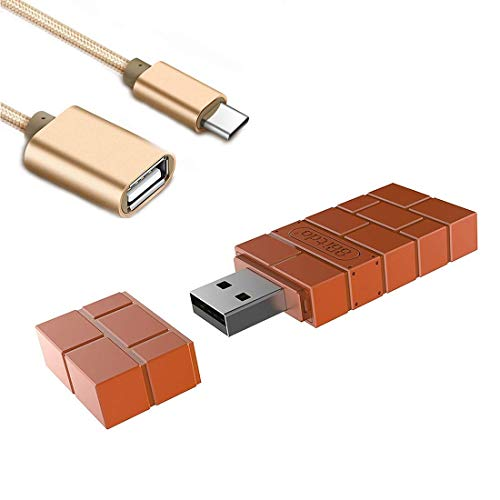 AKNES 8BitDo Drahtloser Bluetooth-Controller Adapter / Empfänger für Nintendo Switch, PS1 / PS4 Classic Edition, Playstation, PC Windows, macOS, Android, Raspberry Pi - Mit Einem OTG