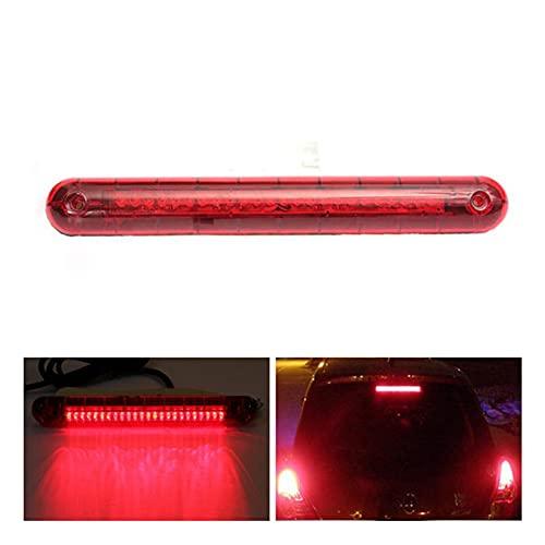 GZA Universal Car SUV 12V 24 Rojo LED Alto Montaje Tercera 3ra Freno Lámpara De Luz