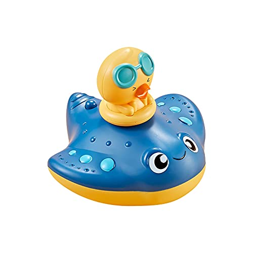 Baby Bath Toys,Puffer Fish Spray Water Squirt Toy,Float Toys,Electric Water Toy,Electric Water Toy,Bathtub Shower Pool Bathroom Toy for Baby Toddler Infant Kid Water Electric Sprayer