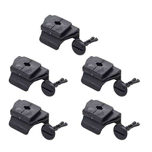 XtremeAmazing Car Front Fender Bumper Cover Clip Pin Kit 53879-58010 47749-58010 Set of 5