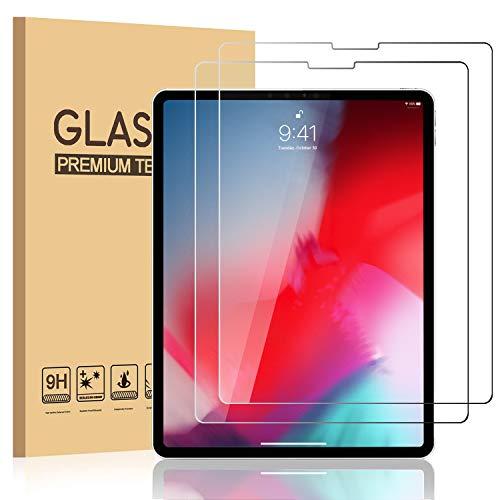 HBorna Protector Pantalla Tablet Compatible con iPad Pro 11 [2 Unidades], [Face ID] 9H Hardness HD Cristal Protectora de Vidrio Templado Protector de Pantalla para Apple el iPad Pro 11 Pulgadas (2018)