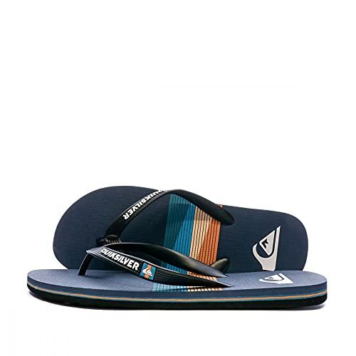 Quiksilver Molokai Seasons, Zapatos de Agua. Hombre, Azul y Negro, 39 EU