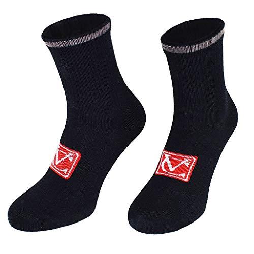 VeloChampion Calcetines deportivos de ciclismo de invierno (paquete de 3) - Talón y puntera reforzados VC Wool Warm Comfort (EU 39-42)