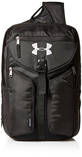 Under Armour Compel Sling 2.0, Black (001)/Silver, One Size Fits All