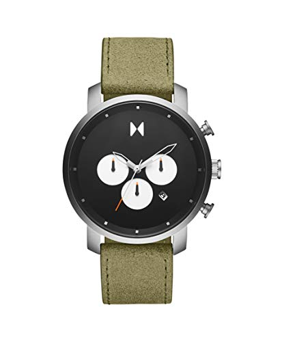 MVMT Herren Analog Quarz Uhr mit Kalbsleder aus Leder Armband 28000008-D