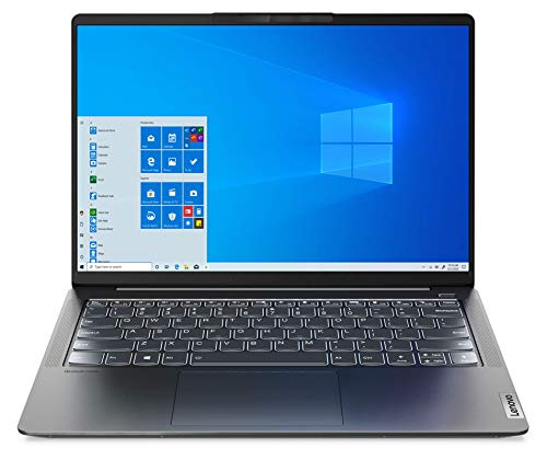Lenovo IdeaPad 5 Pro - Ordenador Portátil 14' 2.8K (Intel Core i7-1165G7, 16GB RAM, 1TB SSD, Intel Iris Xe Graphics, Windows 10 Pro) Gris - Teclado QWERTY Español