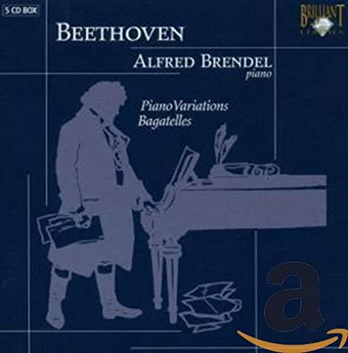 ベートーヴェン:変奏曲、バガテル集(5枚組)