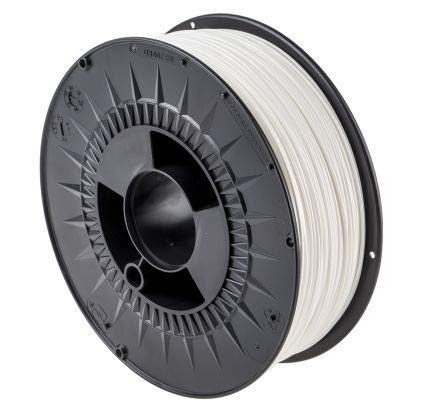 RS PRO 2.85mm White PLA 3D Printer Filament, 1kg