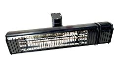 Solar Comort 1500 Infrared heater with full up and down and side to side motorized rotate. Remote controlled Wall Mount Heater Indoor/Outdoor, Commercial/Residential