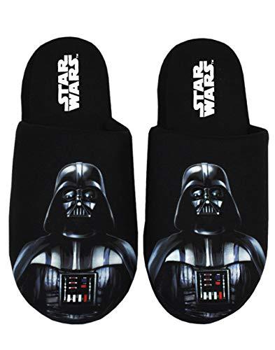 Star Wars Herren Hausschuhe Darth Vader Dark Side Polyester Hausschuhe