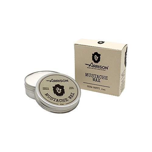 ☆ARRISON® BEARD ☆ Cera Barba e Baffi 30ml - Mustache Wax 100% Made In Italy - Modella e Definisce Baffi e Barba con Tenuta Perfetta - Ottima per Creare Stili...