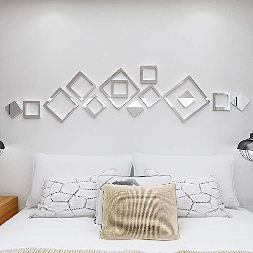 Espejos Decorativos para Habitacion Plata Marca AAAA