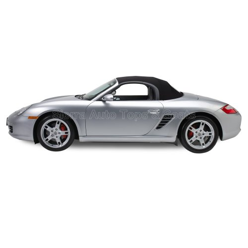 Sierra Auto Tops Convertible Top Replacement for Porsche Boxster 1997-2002, TwillFast RPC Canvas, Black, Heated Glass Window