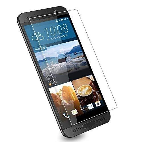 HTC One M9 Panzerglas Schutzfolie 3 Stück, WEOFUN Bildschirmschutzglas Panzerfolie für HTC One M9 Schutzglas Folie [0.33mm, 9H, Ultra-klar]
