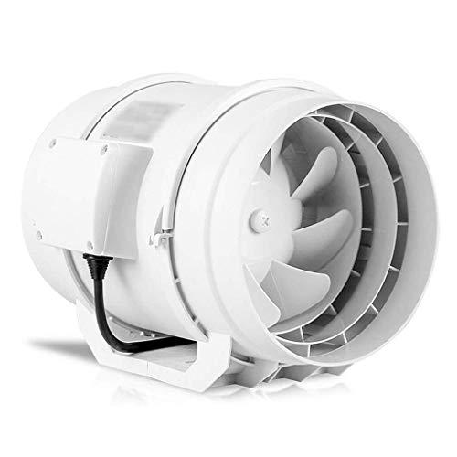 ZYING Extractor - Ronda de Fans de tuberías de Gran Alcance silencioso Extintor Cocina Baño Ventilación
