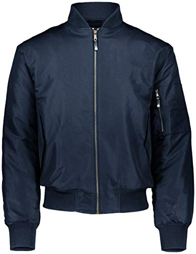 Holloway Sportswear Flight Bomber Jacket 3XL Carbon Print