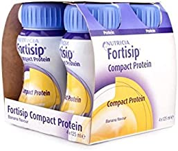Fortisip Compact Protein Banana 4 x 125ml Estimated Price : £ 13,75
