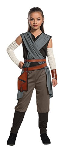 Rubie's Star Wars Episode VIII: The Last Jedi, Child's Rey Costume, Small
