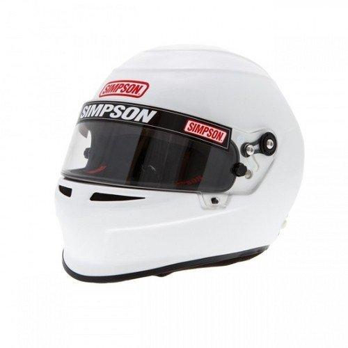 Simpson 6850061 Casque 2015 Venator Blanc Xxl