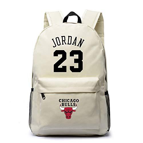LLKSS Basketball Jordan # 23 Canvas Schultasche Bulls Rucksack Herren Rucksack Weibliche Mode Student Tasche Computer Tasche