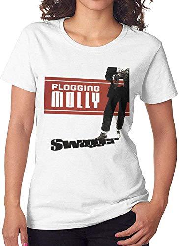 Women's Flogging Molly Swagger Short Sleeve T-Shirt White,Medium