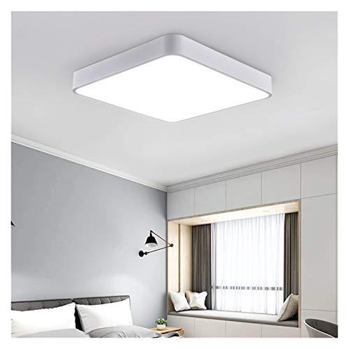 PYSDWE Luz de Techo LED Lámpara de Techo Moderna Sala de Estar Dormitorio Corredor Balcón Iluminación Accesorio Montaje Montaje Redondo Cuadrado Luz LED para el balcón del Pasillo del Dormitorio