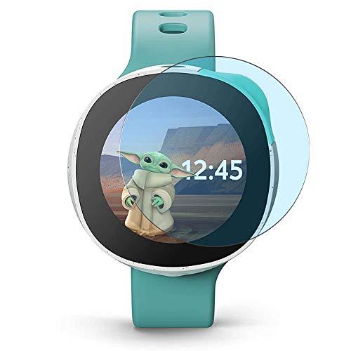 Vaxson 3 Stück Anti Blaulicht Schutzfolie, kompatibel mit Vodafone Neo Smartwatch Smart Watch, Displayschutzfolie Anti Blue Light [nicht Panzerglas]